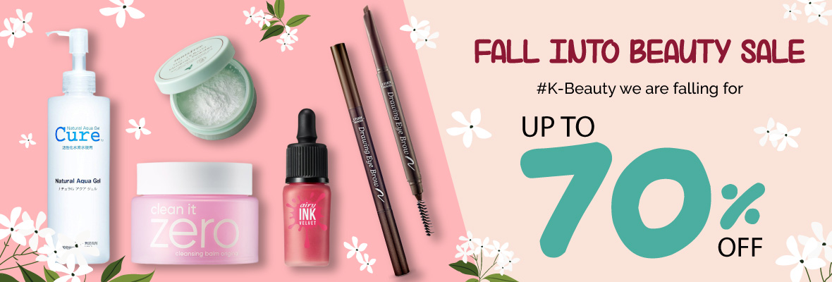 Fall into Beauty Sale
