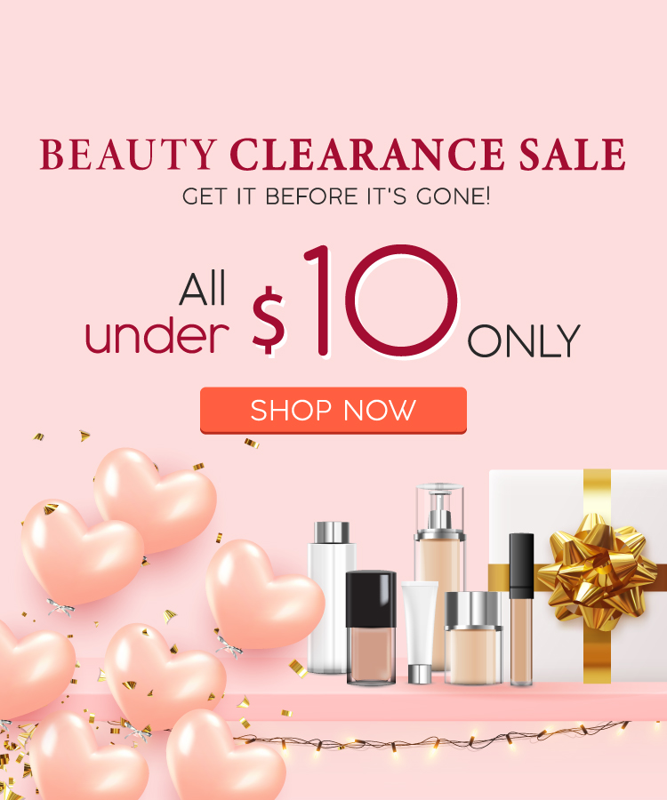 Beauty Clearance Sale