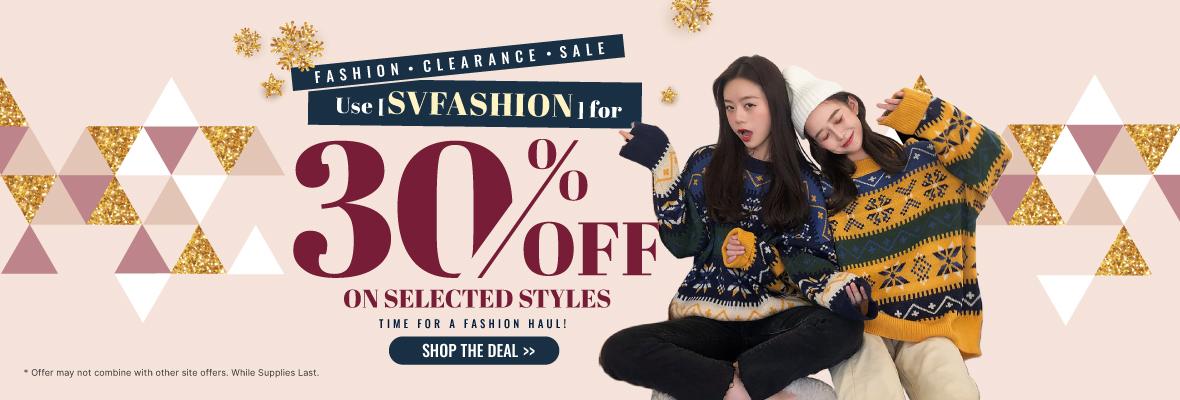 Fashion Clearance Sale