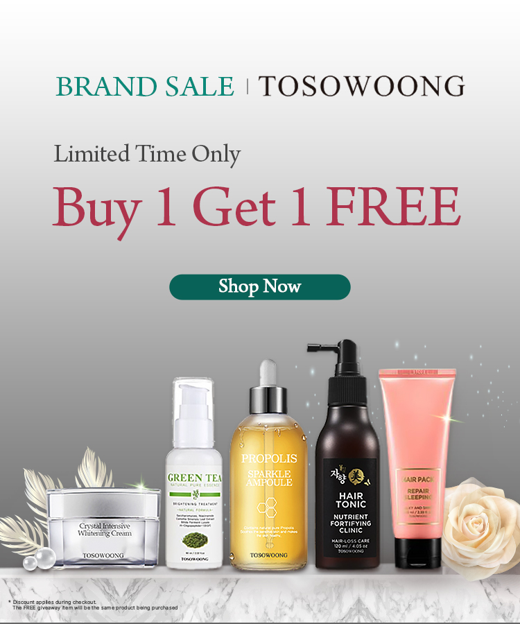 Tosowoong Buy 1 get 1 free