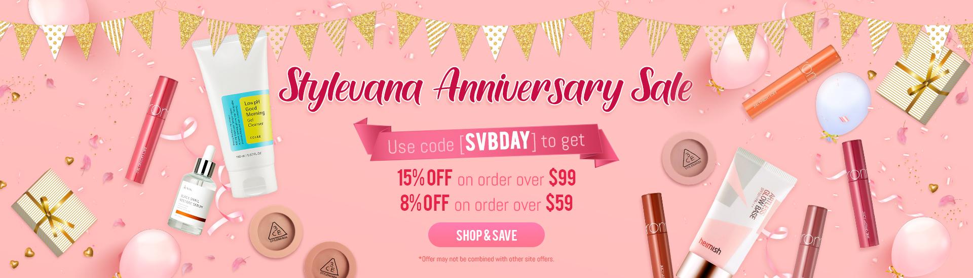 Stylevana Anniversary Sale
