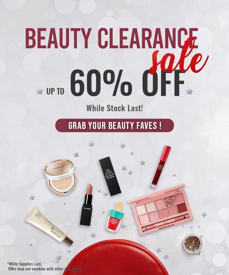 Beauty Clearance
