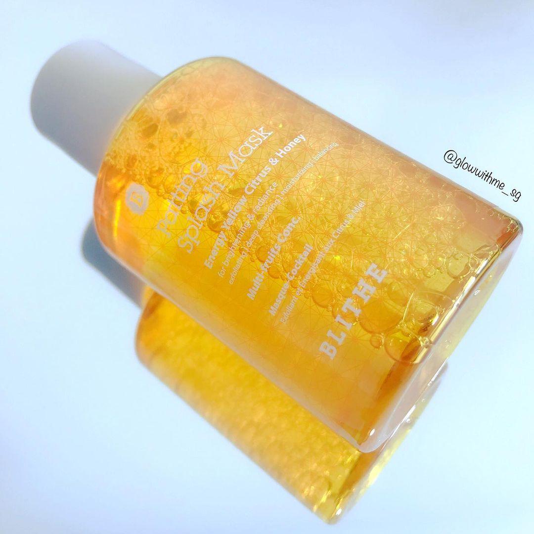 Shop Blithe   Patting Splash Mask   Energy Yellow Citrus & Honey ...
