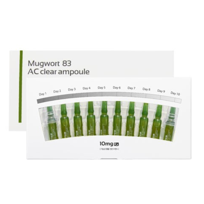 10mg Rx Mugwort 83 AC Clear Ampoule 2ml x10pcs