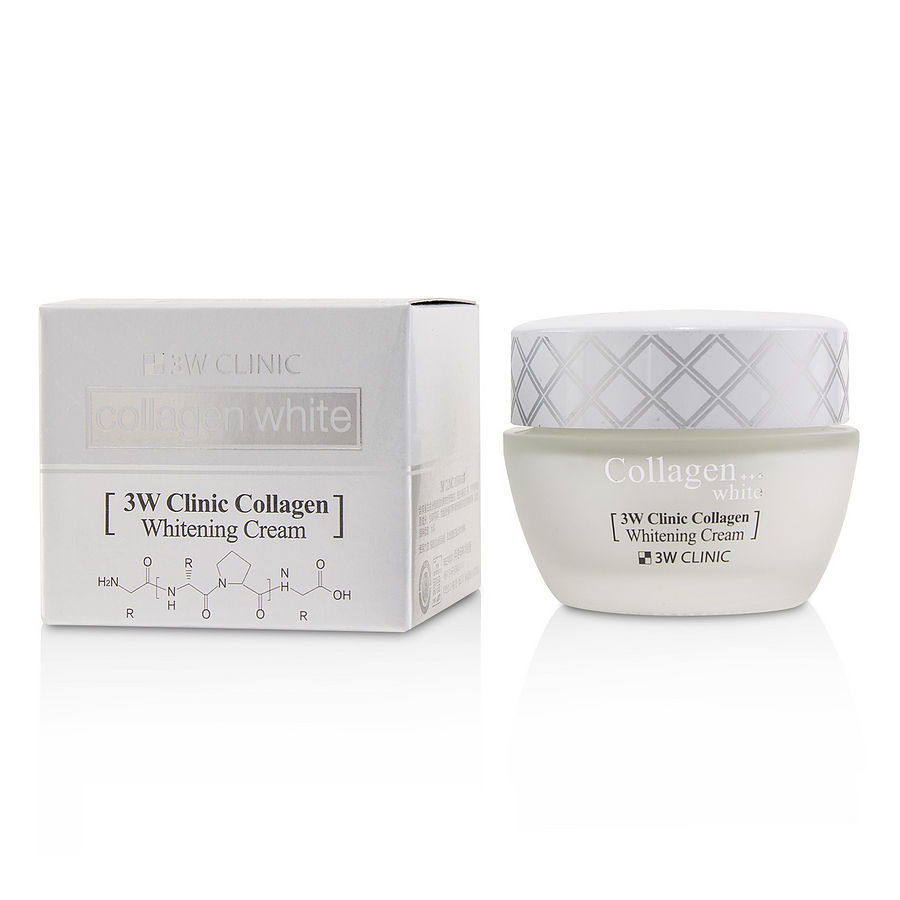 3W Clinic - Collagen Whitening Cream - 60ml