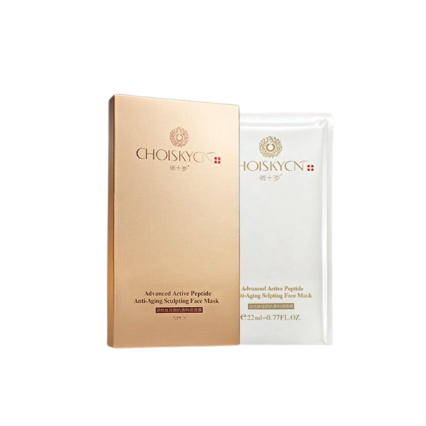 CHOISKYCN - Advanced Active Peptide Anti-Aging Sculpting Face Mask