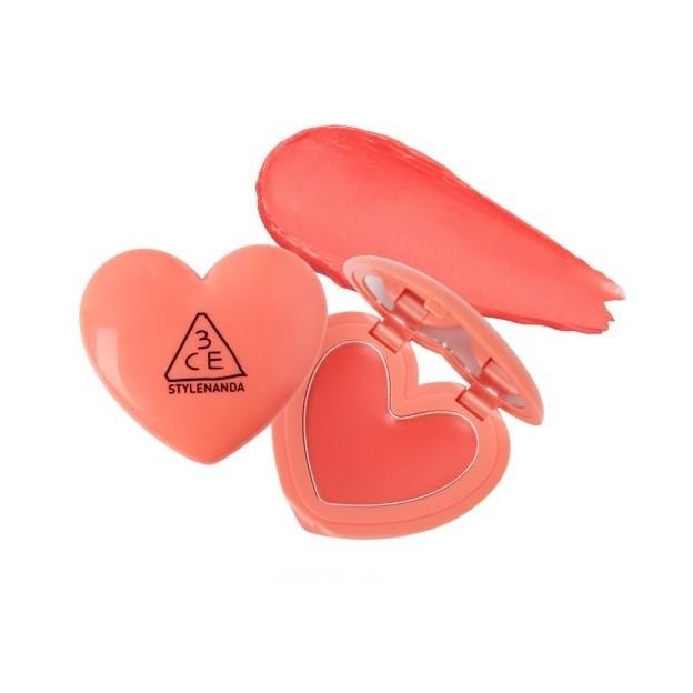 3CE / 3 CONCEPT EYES - Baume à lèvres Heart Pot