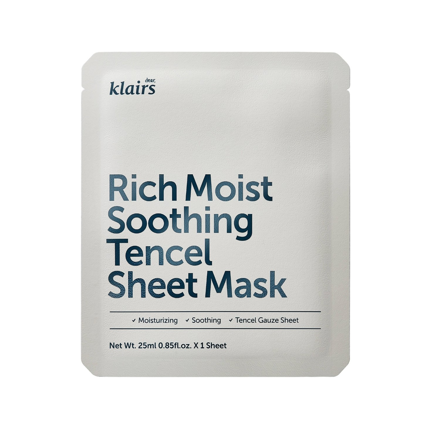 Dear, Klairs - Rich Moist Soothing Tencel Sheet Mask