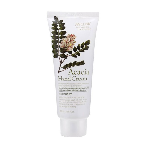 3W Clinic - Acacia Moisturizing Hand Cream - 100ml
