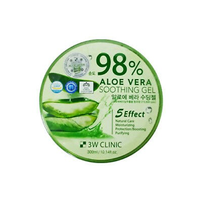 3W Clinic - Aloe Vera Soothing Gel 98%