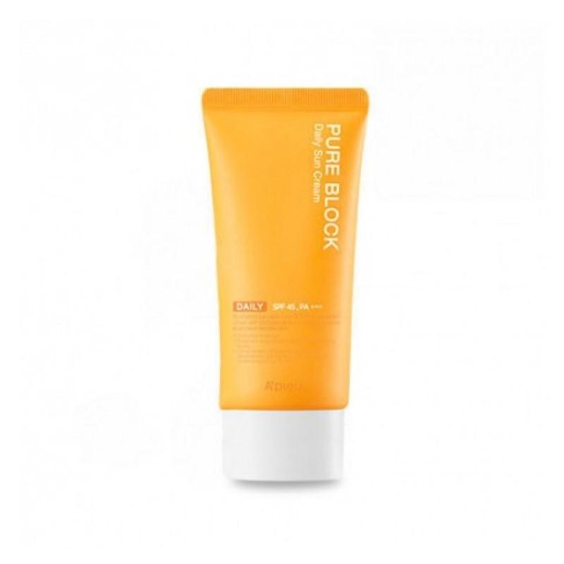 A'PIEU - Pure Block Natural Daily Sun Cream