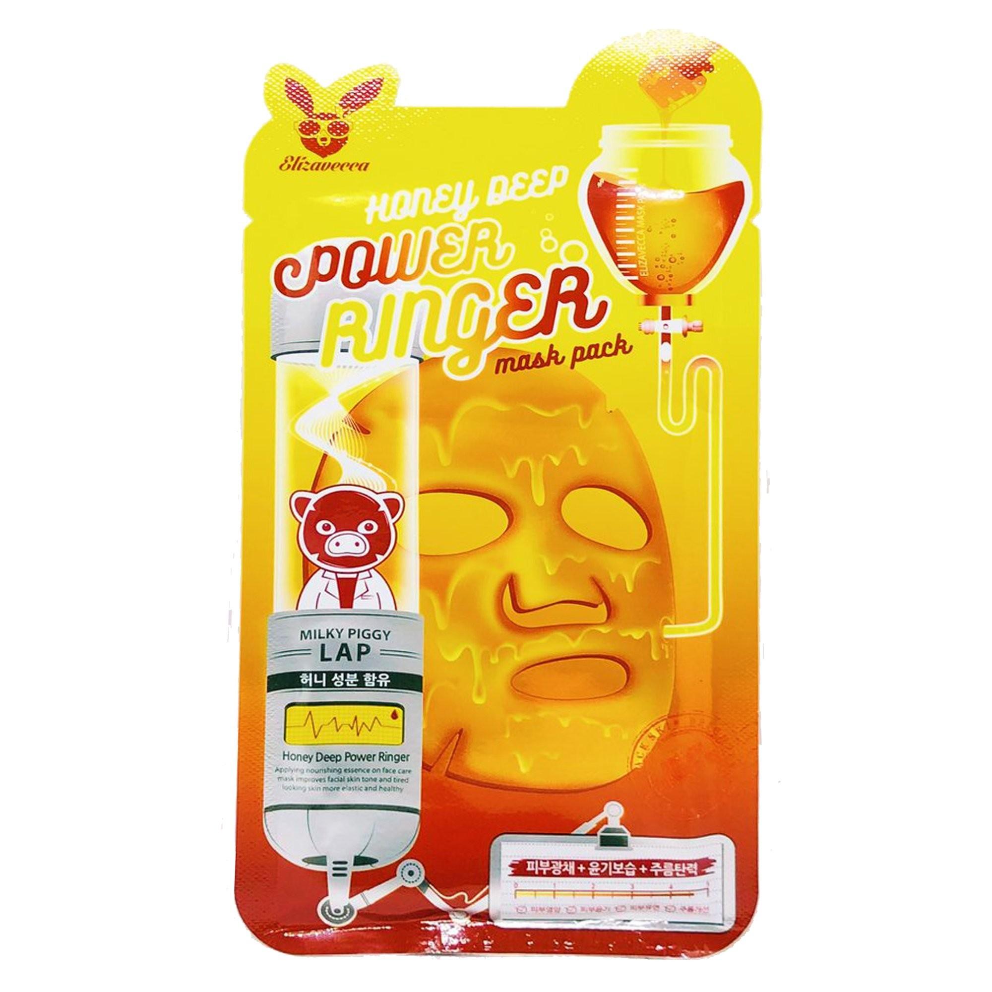 Elizavecca - Honey Deep Power Ringer Mask Pack