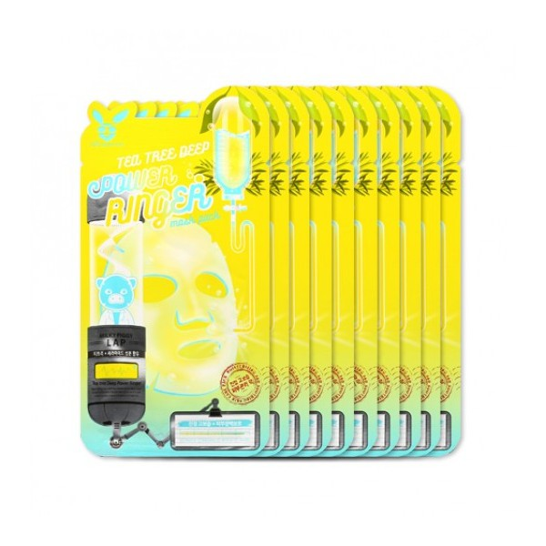 Elizavecca - TeaTree Deep Power Ringer Mask Pack