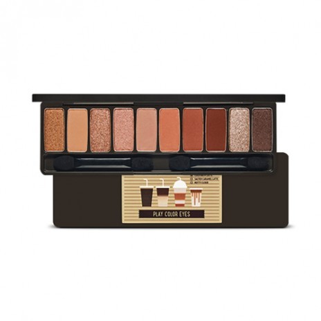 Etude House - Palette des yeux de couleur Play #Caffeine Holic (No Syrup Coffee To Go Edition)