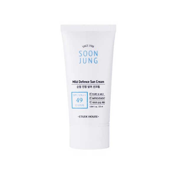 Etude House - Soon Jung Mild Defence Sun Cream