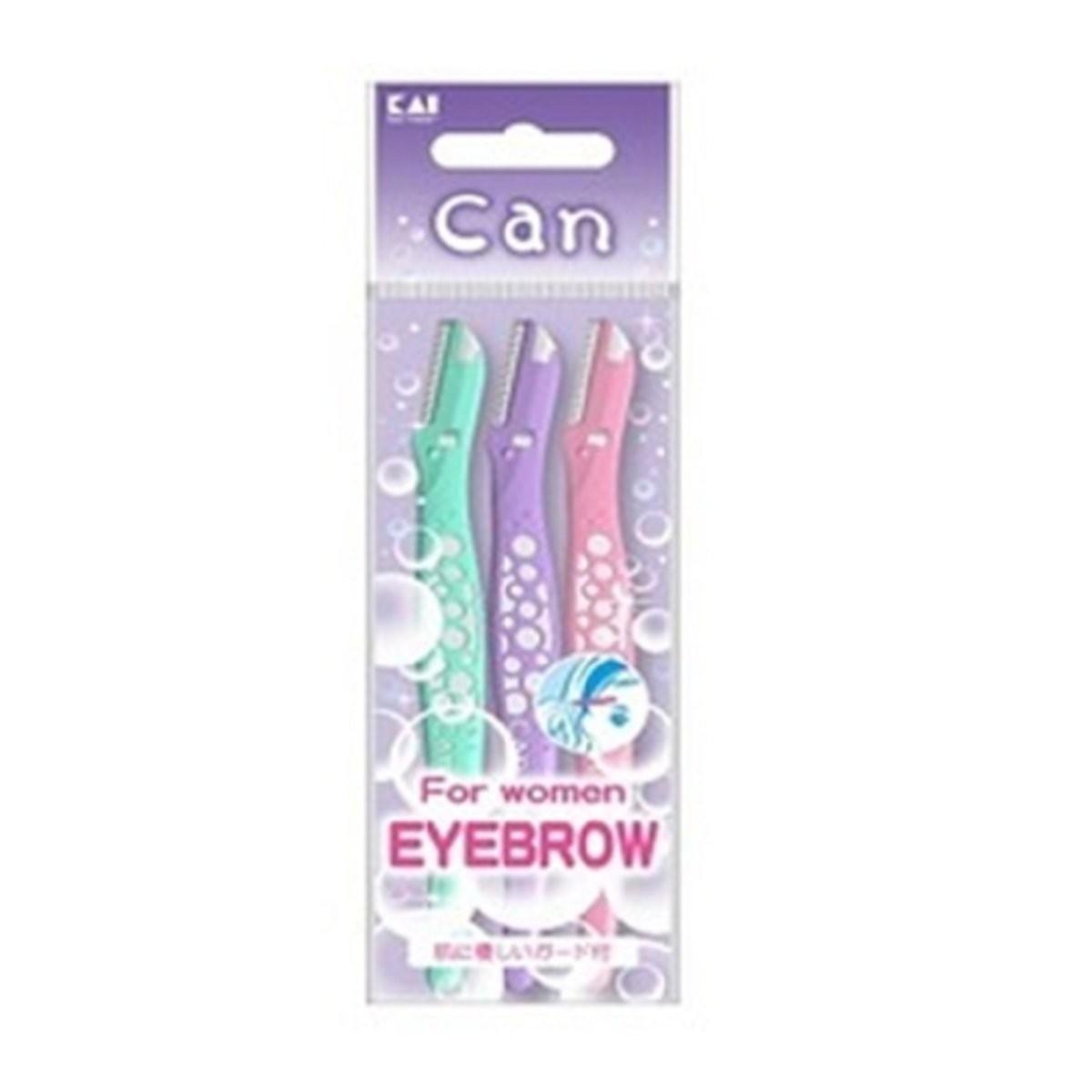 KAI - Can Bubble Eyebrow Razor L Type