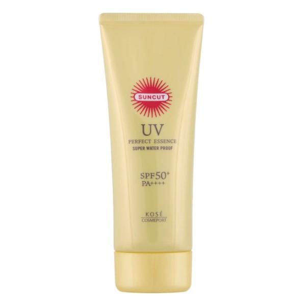 Kose - Suncut UV Perfect Essence Super Water Proof SPF 50+ PA++++ - 110g