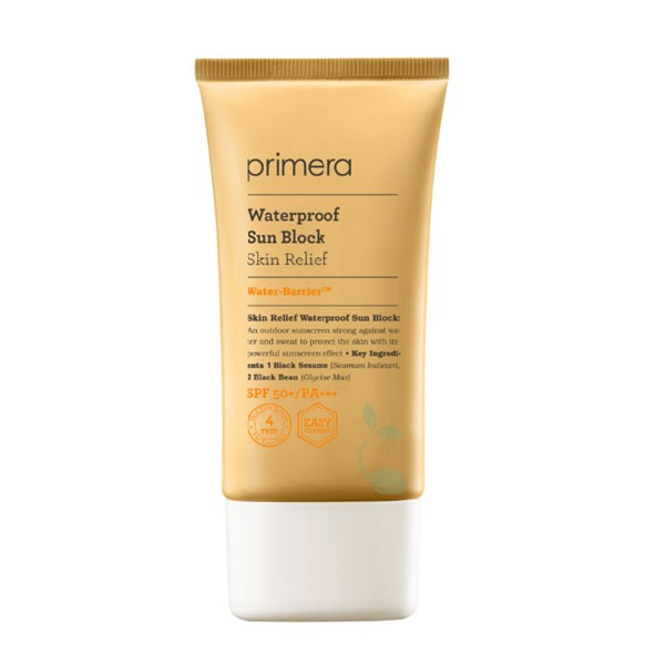 primera - Crème solaire imperméable pour le soulagement de la peau SPF50+ PA+++