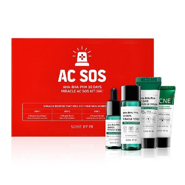 SOME BY MI - AHA. BHA. PHA 30 Days Miracle Acne SOS Kit