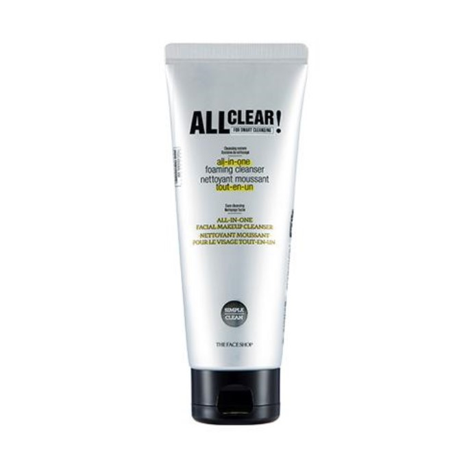 The Face Shop - All Clear All In One Foaming Cleanser