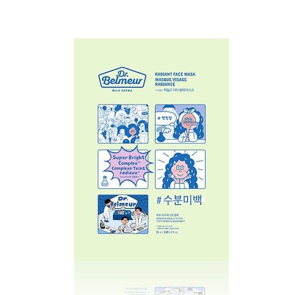 The Face Shop - Dr.Belmeur Mild Derma Face Mask - No.05 Radiant