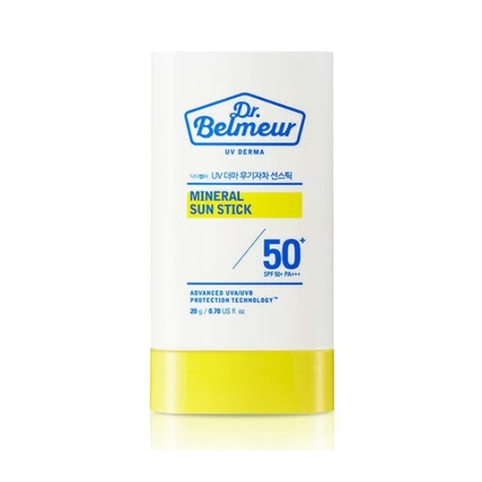 The Face Shop - Dr. Belmeur UV Derma Mineral Sun Stick (SPF50+ PA+++)