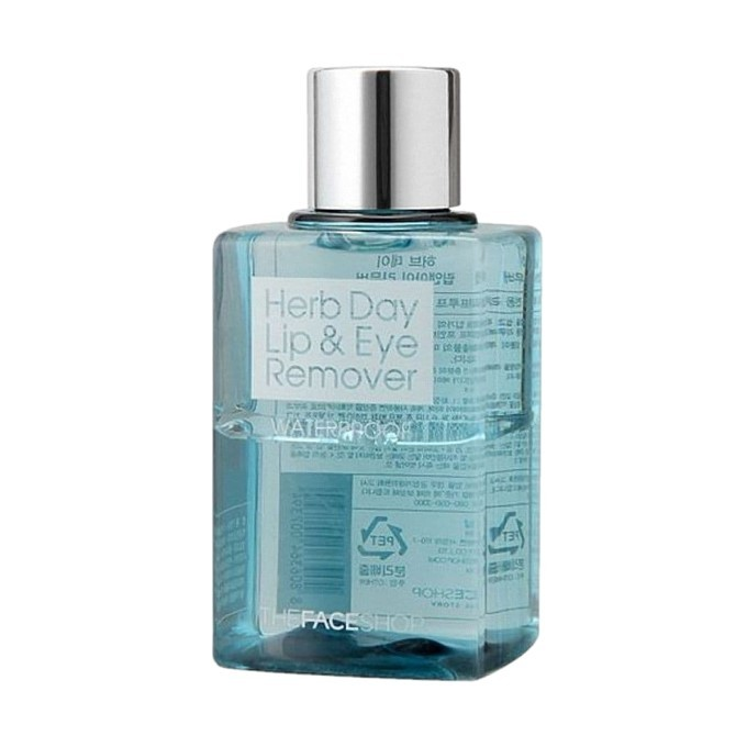 The Face Shop - Herb Day Lip & Eye Makeup Remover