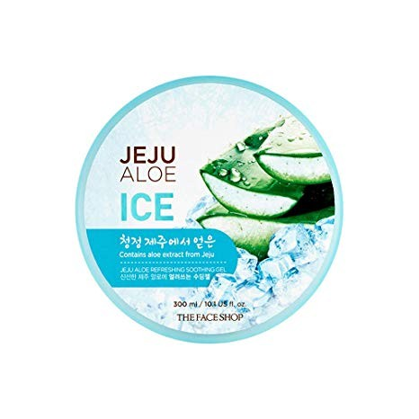 The Face Shop - Jeju Aloe Refreshing Soothing Gel (Ice)