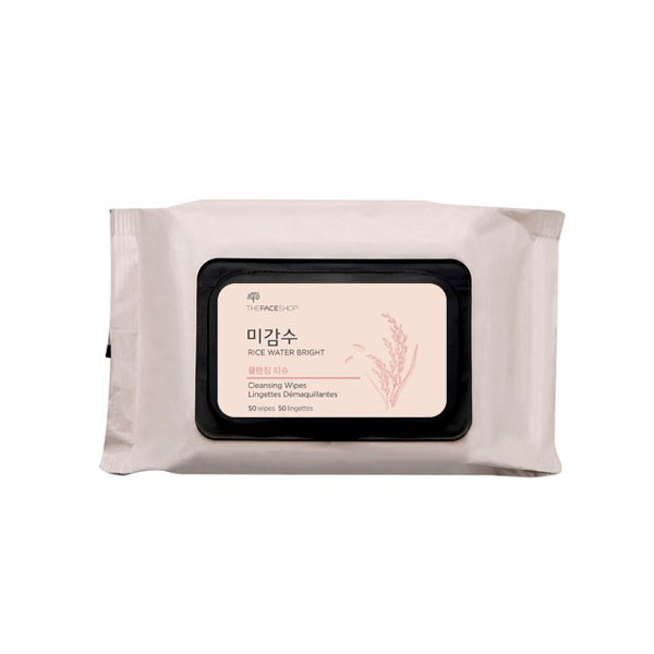 The Face Shop - Rice Water Bright Cleansing Facial Wipes