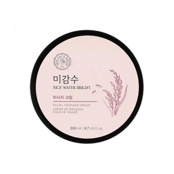 THE FACE SHOP - Rice Water Crème de massage pour le visage