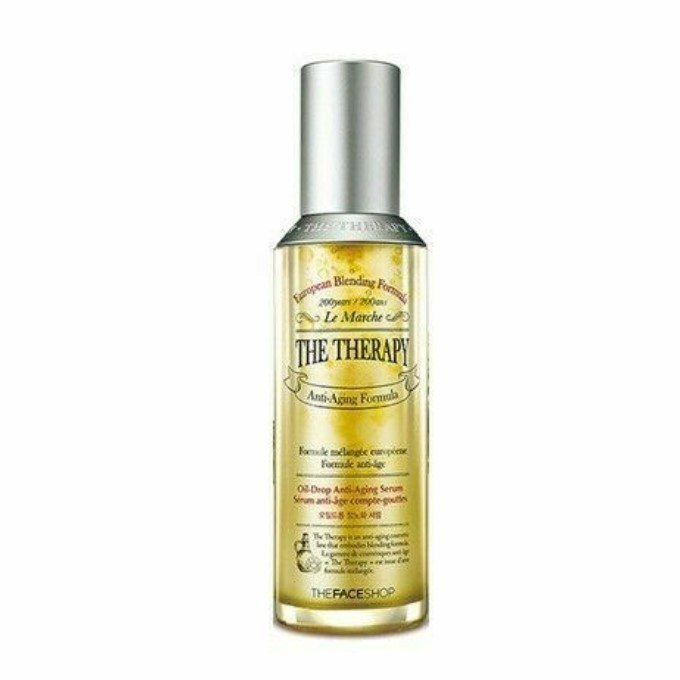 The Face Shop - The Therapy Oil Drop Anti Aging Serum