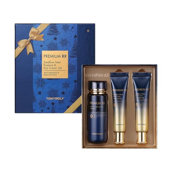 TONYMOLY - Premium RX Swallow Nest Essence & Eye Cream Set - 1set(3items)