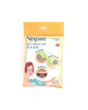 3M - Nexcare Microfiber Bath & Shower Bouffée - 1pc