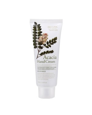3W Clinic - Acacia Moisturizing Hand Cream - 100ml