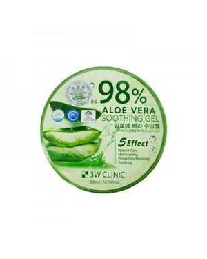 3W Clinic - Aloe Vera Soothing Gel 98%