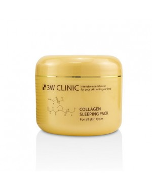 3WClinic - Collagen Sleeping Pack