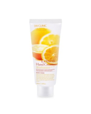 3W Clinic - Lemon Moisturizing Hand Cream - 100ml