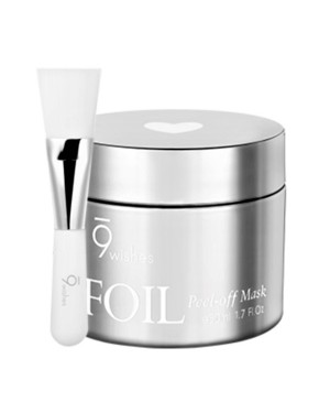 9wishes -Foil Peel-off Mask Silver - 50ml