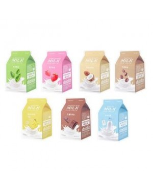 A'PIEU - Masque en feuille Milk One Pack
