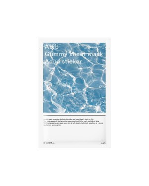 Abib - Masque en feuille gommeux - Aqua Sticker - 1pc