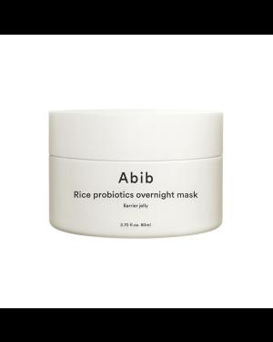 Abib - Gelée barrière de masque de nuit aux probiotiques de riz - 80ml