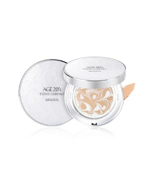 Age 20's - Essence Cover Pact Original White Latte (with refill) - 12.5g*2ea