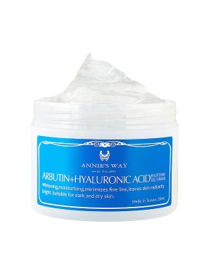 Annie's Way - Arbutin + Hyaluronic Acid Brightening Jelly Mask