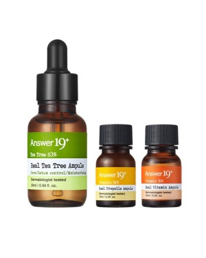 Answer 19+ - Real Propolis Ampule Special Set - 3pcs