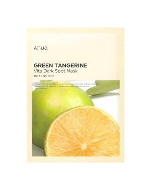 ANUA - Masque Anti-Taches Vert Mandarine Vita - 1pc