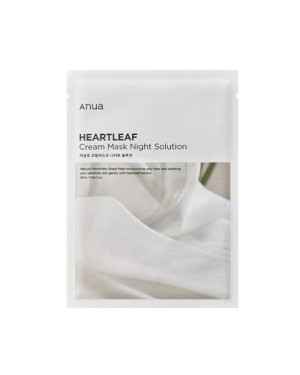 ANUA -  Heartleaf Cream Mask Nachtlösung - 1pc
