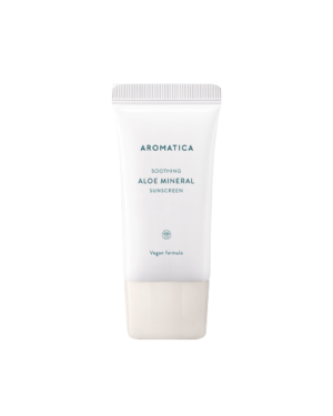 aromatica - Soothing Aloe Mineral Sunscreen SPF50+/PA++++ - 50g