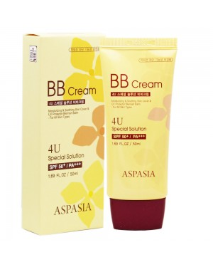 ASPASIA - 4U Speziallösung BB Cream SPF50 + PA +++ - 50ml