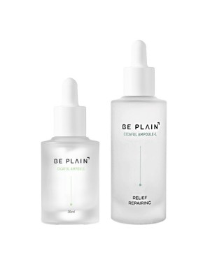 BE PLAIN - Ampoule Cicaful