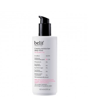 Belif - Creamy Moisturizer Deep Moist - 125ml